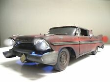 "1958 Plymouth FURY ""CHRISTINE""  Pre- Arnie Movie Car - WORKING LIGHTS 1/18 Scale"
