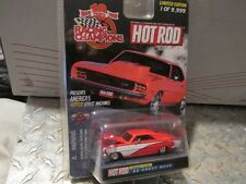 "1966 66  chevy NOVA Racing Champions hot rod mag 1/64 3.25"" 1 of 9,999"