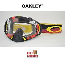 OAKLEY® MAYHEM™ PRO GOGGLE MX ATV MOTOCROSS MOTORCYCLE DIRT LEGACY RED YELLOW