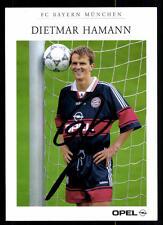 Dietmar Hamann Autogrammkarte Bayern München 1997/98 Original Signiert + C 165