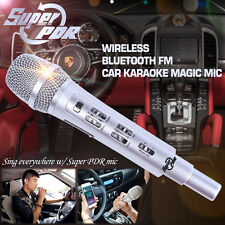 Super PDR Car Karaoke KTV Wireless Bluetooth FM Dynamic Mic For Iphone Android