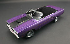 GMP 1970 PLYMOUTH VIOLET BLACK INT ROAD RUNNER 1:18 CONVERTIBLE CAR 440 SIX PACK