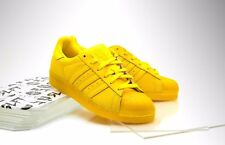 new ADIDAS SUPERSTAR AdiCOLOR shoes men's 11 45 yellow sneakers kicks adi color