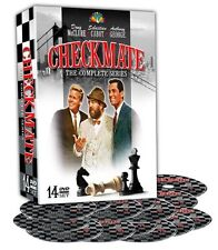 Checkmate . The Complete Series . Season 1 + 2 . All 70 Episodes . 14 DVD . NEU