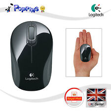New (Not In Box) Logitech m187 Wireless Mini Mouse Black Grey UK Stock