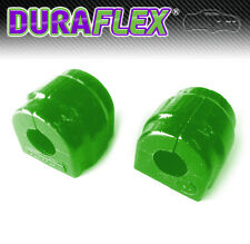 BMW E46 24mm Front Anti Roll Bar Mounts - PAIR  in GREEN Duraflex Polyurethane