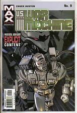 Marvel Max Comics US War Machine #9 NM-