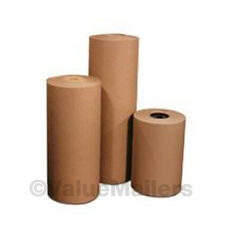 "24"" 60 lbs 660' Brown Kraft Paper Roll Shipping Wrapping Cushioning Void Fill"