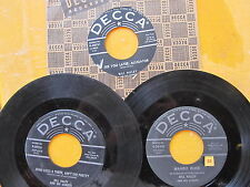 BILL HALEY 45 LOT: 3 Decca 45s Later Alligator, Mambo Rock, Ooh! Look-a There