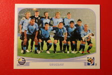 Panini SOUTH AFRICA 2010 68 URUGUAY TEAM TOPMINT!!