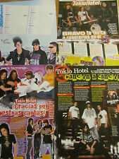 Tokio Hotel, Lot of TEN Clippings, Foreign Magazine