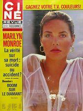 Ciné Revue n°50- 1978 - Marilyn Monroe - Jean Marais - Françoise Aranoul -