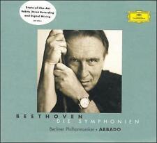Beethoven: 9 Symphonies - Caudio Abbado (CD, 2000, 5 Disc, Deutsche Grammophon)