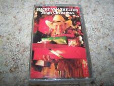 RICKY VAN SHELTON Sings Christmas CASSETTE NEW & SEALED