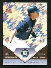 1999 Omega ALEX RODRIGUEZ Home Run 99' Insert #18