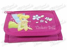 Disney Tinkerbell Teen Girls Tri-Fold Wallet - Pink