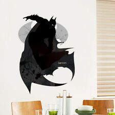 Movies Batman Vinyl Art Wall Stickers Wall Decals Mural Kids Bedroom Home Decor