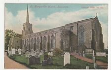 St. Margarets Church Lowestoft Postcard, A772