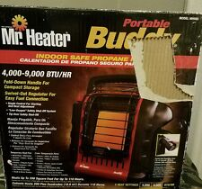 MR. HEATER Portable Buddy MH9BX 9000 BTU Radiant Propane Heater