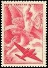 "FRANCE TIMBRE STAMP AVION N°17 "" SERIE MYTHOLOGIQUE , IRIS "" NEUF X TB"