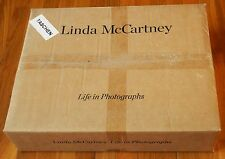 SIGNED BY PAUL MCCARTNEY LIFE IN PHOTOGRAPHS SEALED LIMITED EDITION - LINDA