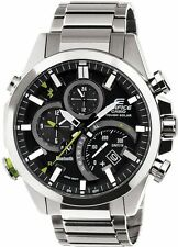 CASIO EDIFICE BLUETOOTH MOBILE LINK FUNCTION SOLAR POWERED ALARM MEN'S WATCH