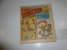 WHIZZER & CHIPS Comic - Date 14/03/1981 - Uk paper comic