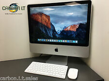 "Apple iMac da 20"" 9.1 Intel Core 2 DUO 2.66ghz 2gb RAM 320gb HDD OS X 10.11 RICAMBI"