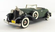 1932 Packard Light 8 Convertible Coupe Top Down Brooklin BRK. 6A 1/43 Scale