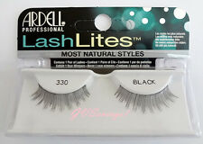 Ardell LASHLITES #330 False Eyelashes Fake Lashes Black Natural Fashion Lashes