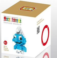 Nano Block Building Blocks Sets Mini Blocks Toys Gift Series- Smurfs