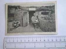 WWI 1916 military photo Austria Hungary officer Offiziervilla Schützengraben KuK