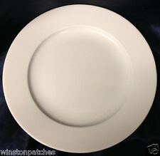 "ROYAL MOSA HOLLAND RMS11 DINNER PLATE 10 1/2"" ALL WHITE SMOOTH"