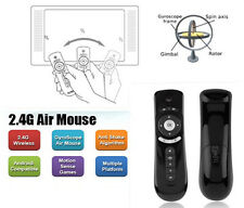 2.4G Wireless 3D Remote Sensing Fly Air Mouse Gyroscope Anti-Shake For TV PC Mo