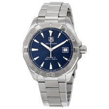 Tag Heuer Aquaracer Stainless Steel Mens Watch WAY2112.BA0928