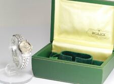 Vintage ROLEX 6917 cal.2030 Gray dial DATE Lady's SS/WG w/Rare BOX_153927