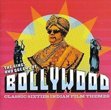 The Kings and Queens of Bollywood - Various Artists Import CD  VG++