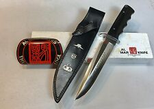 Vintage 1980' Rare Al Mar USASF LE James N.Rowe SF/SOG Dagger Knife Box Mint