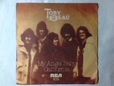 "TOBY BEAU My angel baby 7"" ITALY UNIQUE PICTURE SLEEVE"