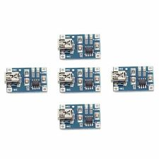 5PCS TP4056 Mini USB 1A Lithium Battery Charging Board Charger Module 4.5V-5.5V
