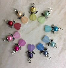 Handmade Guardian Angel Charms Pack Of 10