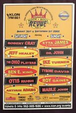VERY RARE 2002 KLON ROCK & SOUL REVUE cardstock promotional POSTER