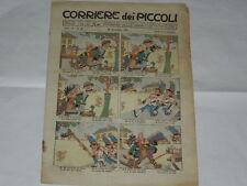 CORRIERE DEI PICCOLI N.48 DEL 28/11/1915 ILLUSTRATA DA RUBINO E GUSTAVINO