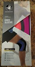 Neoprene Athletic Knee Protection Compression Sleeve Brace ACL Pink Size Medium