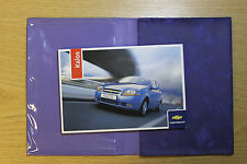 Chevrolet Kalos Aveo Manual Owners Manual Cartera 2005-2007 # 7117