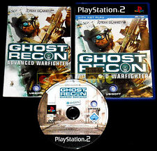 TOM CLANCY'S GHOST RECON ADVANCED WARFIGHTER Ps2 Ver Europea ••••• COMPLETO