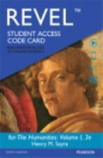 NEW REVEL for The Humanities Volume 1  Access Card 3rd Edition FREE SHIPPING