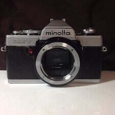 Minolta XG 7  SLR 35MM Film Camera Body Only XG 7 New Light Seals Tested SN702/7