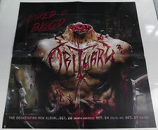 "Obituary - Inked In Blood * large promo poster 22"" x 22"" rare limited"
