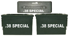 ".38 SPECIAL ammo box( DECALS) two 6.5""x 1.5"" one 5""x0.75"" NO BOX INCLUDED"